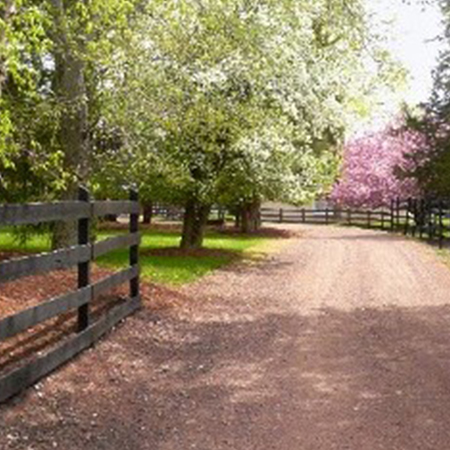 Stable Driveway